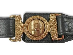 Swedish Navy sword belt with sling